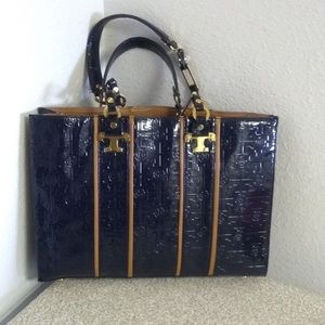 Authentic Tory Burch Navy Shoulderbag